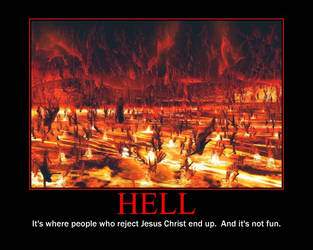 Hell Demotivational Poster by QuantumInnovator