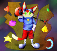 Blinx the Cat by MasaBear