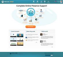 RegalWeb site design by jovargaylan
