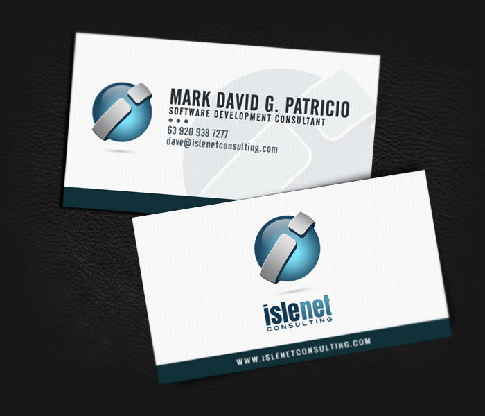 Islenet Consulting Business Card By Jovargaylan On Deviantart