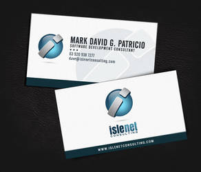 Islenet Consulting Business Card by jovargaylan