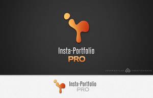 Insta-Portfolio Pro Logo by jovargaylan