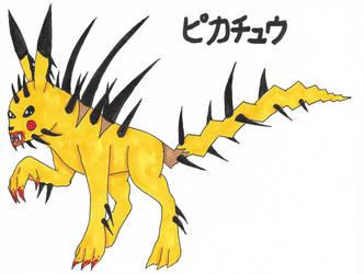 pokerage: Pikachu by Bronybeast99