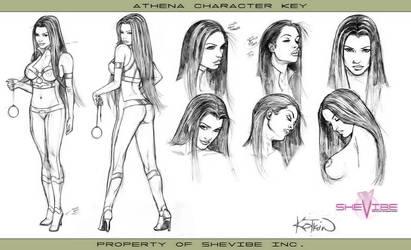 Athena-CharacterKey1 by SheVibe