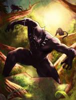 Black Panther by KhallidJoseph