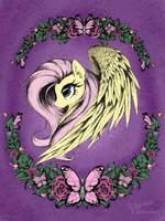 Fluttershy side by AltoHearts