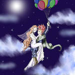 Marle and Crono by twilinympho