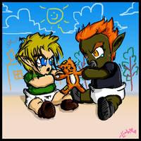 Link vs. Ganon - Epic Battle.. by twilinympho