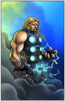 The Mighty Thor by TPollockJR