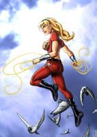 WonderGirl Commission by TPollockJR