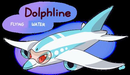 FAKEMON: Dolphline by MAST3R-RAINB0W