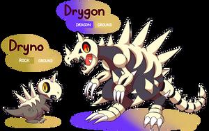 FAKEMON: Dryno, Drygon [UPDATED] by MAST3R-RAINB0W