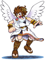'Mario+Luigi'' RPG Style: Pit (Kid Icarus) by Mast3r-Rainb0w