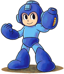 ''Mario+Luigi'' RPG Style: Mega Man by Mast3r-Rainb0w