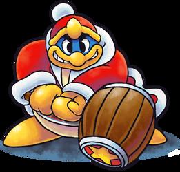 ''Mario+Luigi'' RPG Style: King Dedede by Mast3r-Rainb0w