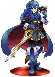 ''Mario+Luigi'' RPG Style: Lucina (Fire Emblem) by MAST3R-RAINB0W