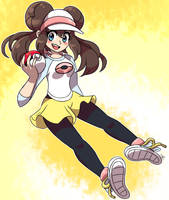 Rosa (aka Mei) from Pokemon by MAST3R-RAINB0W
