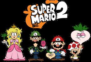 ''LOUD HOUSE'' Style: Super Mario Bros. 2! by Mast3r-Rainb0w