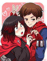 [MM] AE: Ruby Rose (RWBY) x Homecoming Spiderman by MAST3R-RAINB0W