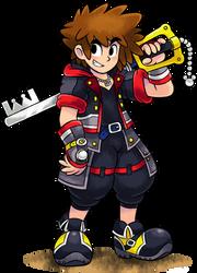 [MM] ''M+L'' RPG Style: Sora (Kingdom Hearts 3) by MAST3R-RAINB0W