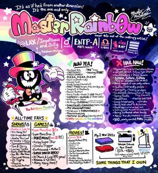 Meet the Maestro-rific Artist, MAST3R-RAINB0W! by MAST3R-RAINB0W