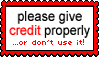 [STAMP]: PLEASE GIVE CREDIT PROPERLY! by MAST3R-RAINB0W