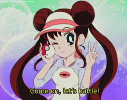 MY ATTEMPT @ 90s Sailor Moon Style - ROSA(Pokemon) by MAST3R-RAINB0W