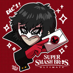 Joker from Persona 5 comes to SMASH BROS by MAST3R-RAINB0W