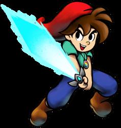 [MM] 'Mario+Luigi' RPG Style: Neo [OC] by Mast3r-Rainb0w