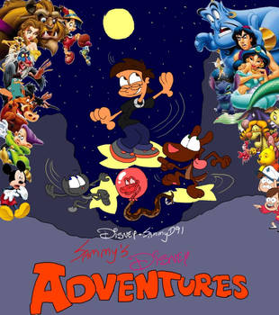 Sammy's Disney Adventures Poster 2 by SammyD-Productions