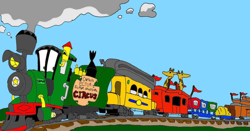 SLKTWC: The Circus Train by SammyD-Productions