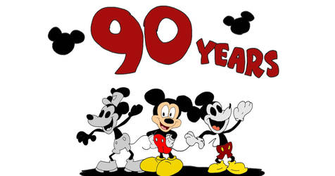 90 Years of Mickey Mouse by SammyD-Productions