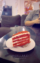 Red Velvet Cake by andelumud