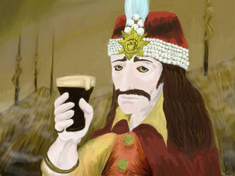 Vlad the Impaler Imperial Stout by texacutioner