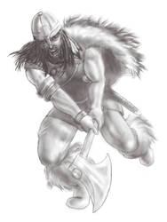 Viking drawing by texacutioner