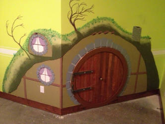 In a hole in the wall there lived a hobbit... by texacutioner
