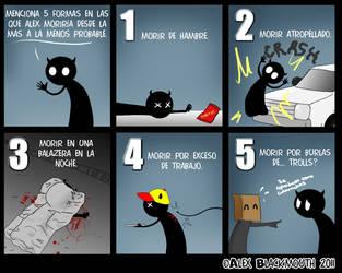 5 formas de morir by alex-boka