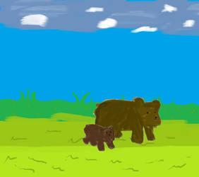 Dumb bears by HDee89