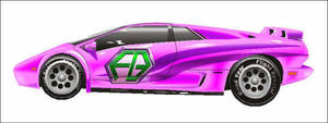 The Glam Mobile By 'sabal' by mysteryincfan2