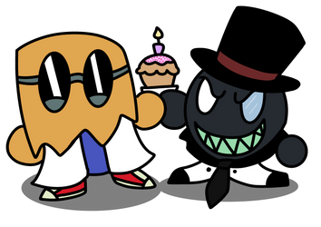 Happy birthday idigoddpairings by foxy21a72