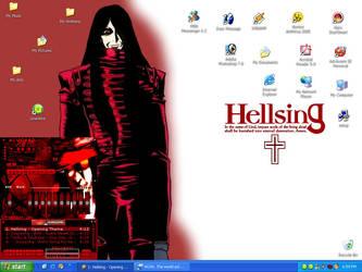 Hellsing Desktop by gothmylittlepony