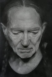 full view of Willie Nelson by vipinraphel