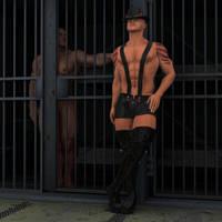 teasing the inmates by renderscot