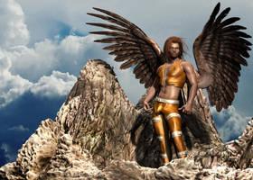 Wings by renderscot