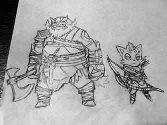 God of War x Pokemon by RekstheEnigma