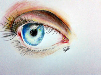 Detailed eye by Haunting-Lullaby