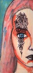Tattoo Girl by charlaen