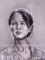 Katniss - The Reaping by SunlessRise