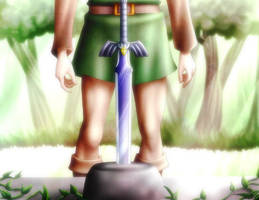Legend of Zelda - Link to the Past by AquaWaters