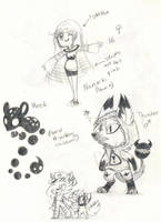 Nanaiki Meek Thunder Me And Comet by Captain-Dark-Kitty